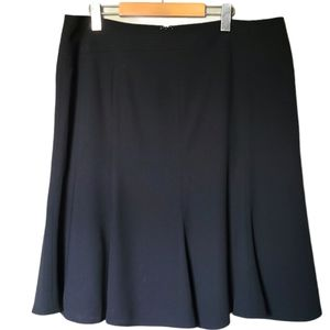 Nygard   Flared A-line Skirt with Stitching Detail